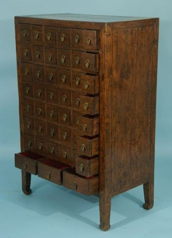 39: ANTIQUE APOTHECARY CABINET - 3
