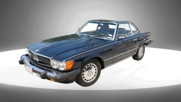48A: 1988 MERCEDES 560SL