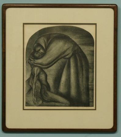 "17: JOSE CLEMENTE OROZCO ""THE FRANCISCAN INDIAN"" LITHO"