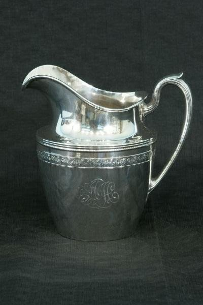 14: STERLING SILVER WATER PITCHER