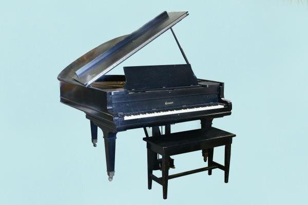 99: CONOVER EBONY BABY GRAND PIANO