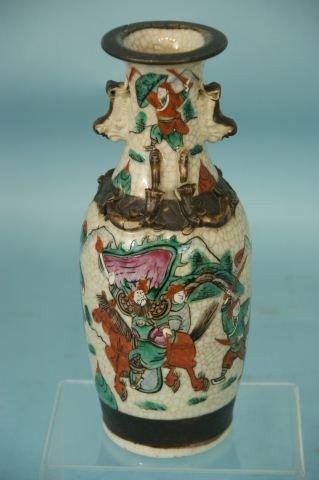 5: ANTIQUE CHINESE PORCELAIN VASE, CIRCA 1880
