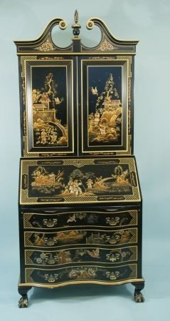 """6A: MADDOX ACCENT FURNITURE """"GOVERNOR WINTHROP"""" CHINESE"""