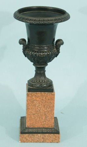 4: NEOCLASSICAL STYLE CAST RESIN URN