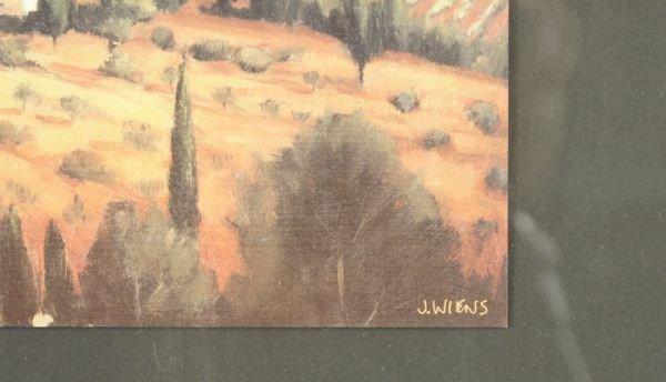 "190: TWO J. WIENS ""TUSCAN SCENE"" PRINTS - 4"