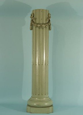 6: FLUTED COLUMN WITH SWAG