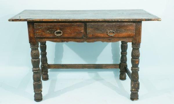 46: 18th CENTURY TABLE, CIRCA 1750