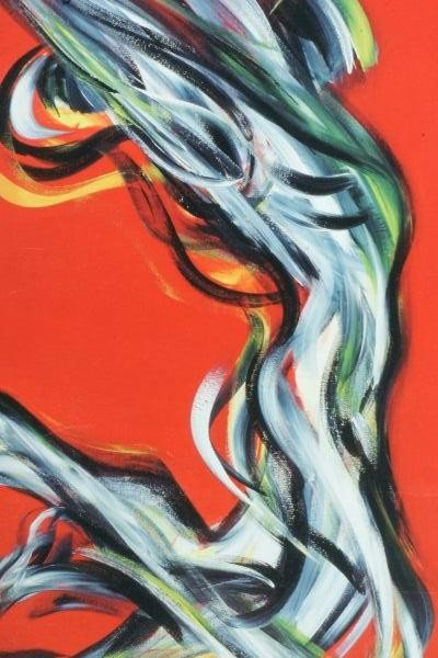 "96: UNFRAMED SIBL DUSKO ""ABSTRACT NUDE"" ARTIST PROOF - 2"