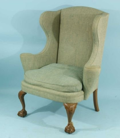 16: HEATH & BROWN GEORGE I STYLE WING CHAIR