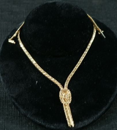 139: 14KT GOLD CHAIN, 17.2 GRAMS