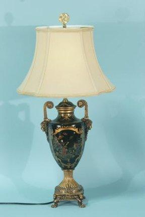 2: GILDED URN LAMP