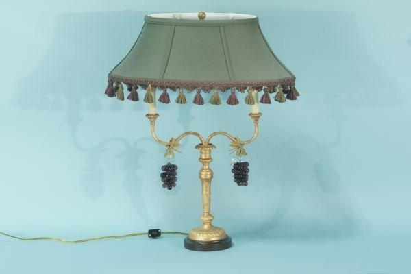 3: GILDED BOUILLOTTE LAMP