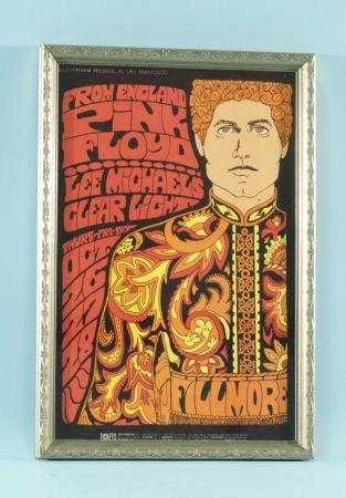 5: PINK FLOYD, LEE MICHEALS CLEAR LIGHT, BAND POSTER