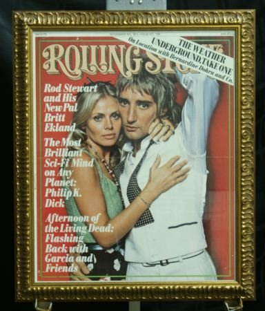 7: ROLLING STONES MAGAZINE COVER POSTER, ROD STEWART
