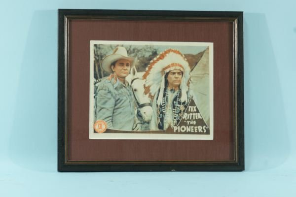 """14: TEX RITTER IN """"THE PIONEERS"""" MOVIE POSTER"""