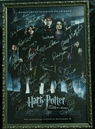 """216D: """"HARRY POTTER AND THE GOBLET OF FIRE"""" MOVIE POSTE"""