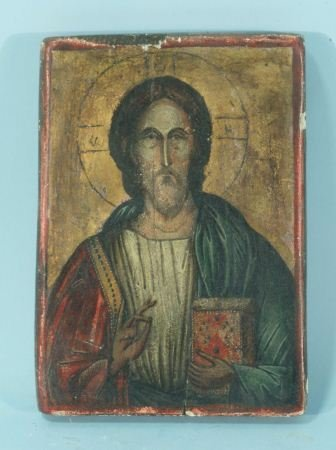 99: 19th CENTURY RUSSIAN ICON OF CHRIST