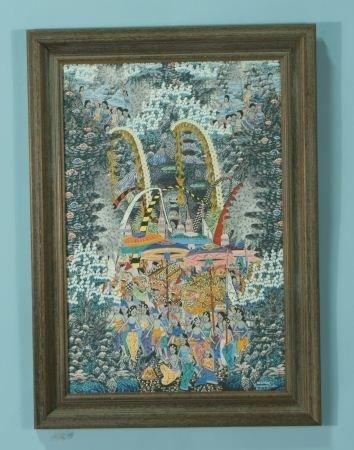 100A: BALINESE ARTWORK