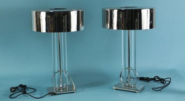 159: PAIR OF DESK LAMPS BY GLOBAL VIEWS