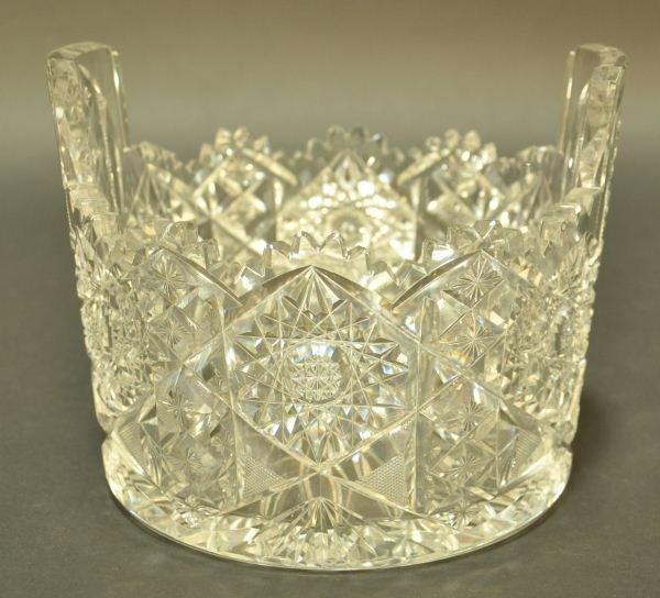 22: AMERICAN CUT GLASS BOWL