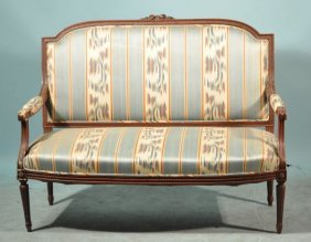 10: ANTIQUE FRENCH SETTEE