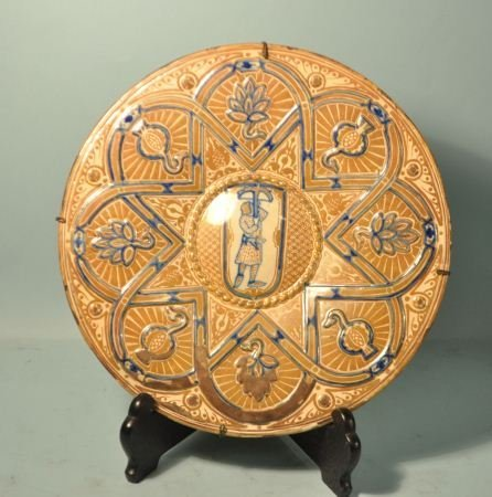 20: 17th/18th CENTURY ITALIAN MAJOLICA CHARGER