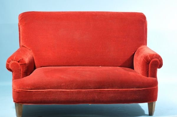 VELVET LOVESEAT
