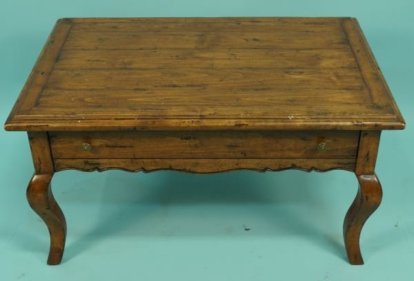 FRUITWOOD COUNTRY FRENCH STYLE COFFEE TABLE