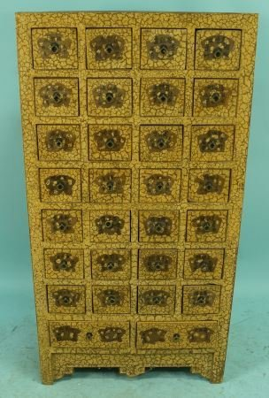 ORIENTAL APOTHECARY CHEST OF DRAWERS