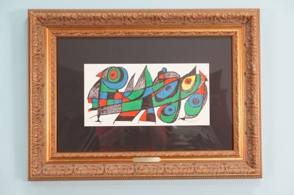 """JOAN MIRO """"JAPAN"""" LITHOGRAPH IN COLOR"""