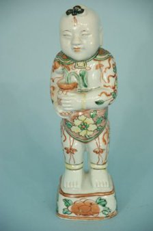 CHINESE PORCELAIN MALE FIGURE