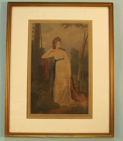 "ARTHUR BROOK ""CHESHIRE"" ORIGINAL AQUATINT, 1930"