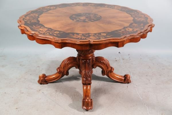 EXCEPTIONAL 19th CENTURY ITALIAN INLAID TABLE
