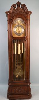 COUNTRY FRENCH GRANDFATHER CLOCK BY TREND