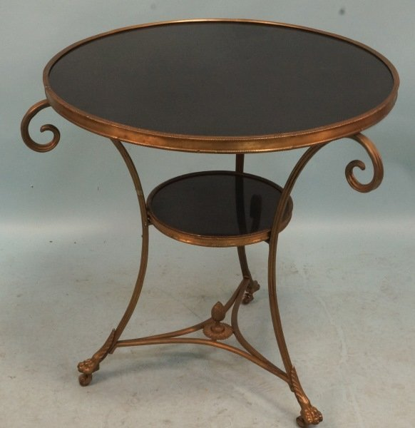 FRENCH STYLE GUERIDON TABLE