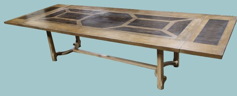 VINTAGE DROP LEAF DINING TABLE WITH REMOVABLE END