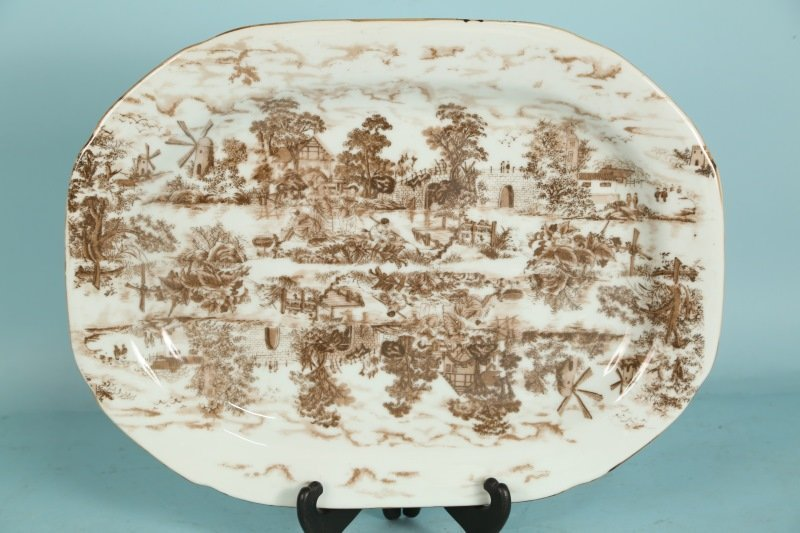 TRANSFERWARE SERVING PLATTER