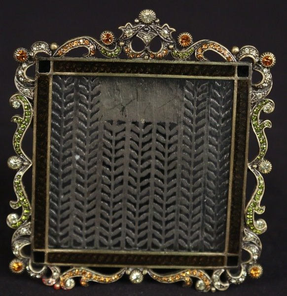 JEWELED PICTURE FRAME BY TIZO