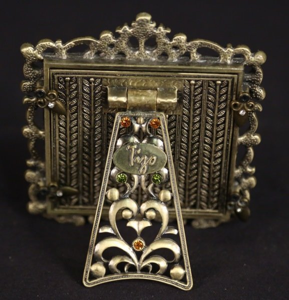 JEWELED PICTURE FRAME BY TIZO - 2