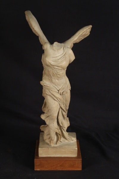 """THE WINGED VICTORY """"NIKE"""" CAST PLASTER REPLICA"""