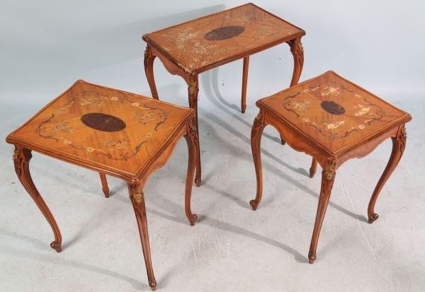 EDWARDIAN NEST OF TABLES