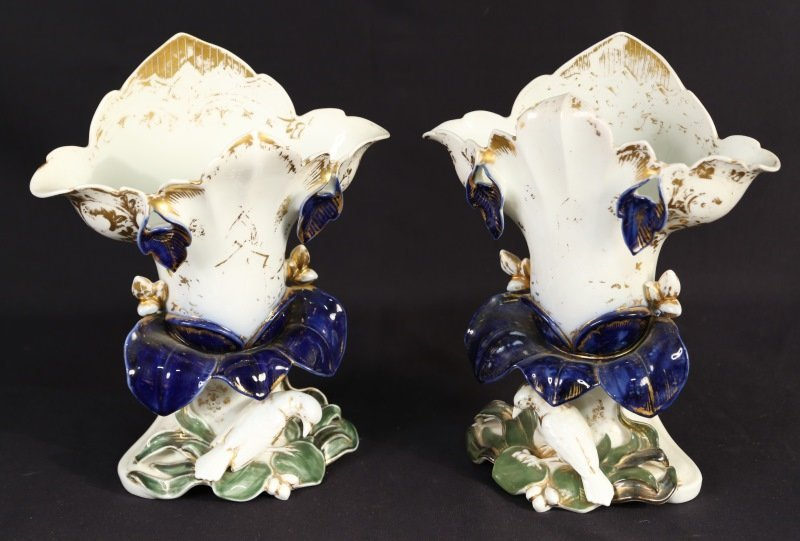 PAIR OF 19th CENTURY OLD PARIS VASES