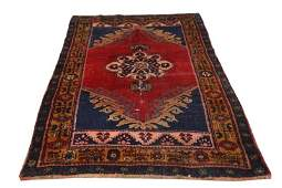SEMIANTIQUE HAND KNOTTED PERSIAN SHIRAZ RUG