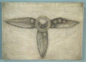 """Penny Cerling """"violet-seed Packet"""" Pen, Ink, Oil"""
