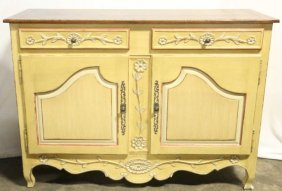 Country French Sideboard Cabinet