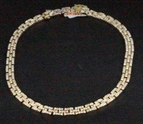 Cartier 18kt Gold 15 Ct Diamond Necklace