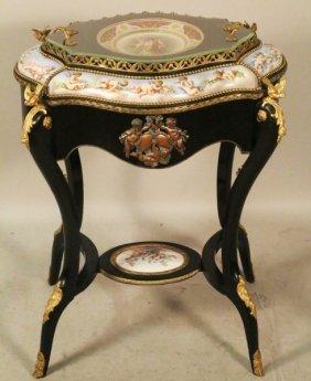 Circa 1824 Royal Vienna Sevres Wine Cooler Table