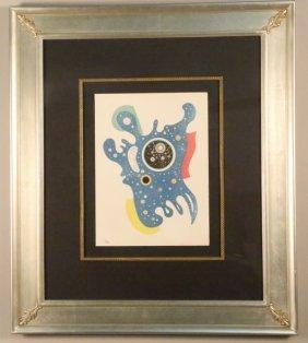 "Wassily Kandinsky ""etoile"" Original Litho, 1938"