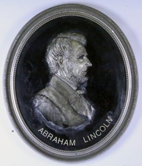 "David Adickes ""abraham Lincoln"" Relief, 2002"