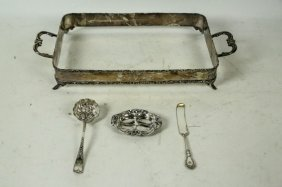 Mixed Lot Of Four Sterling Silver Pieces